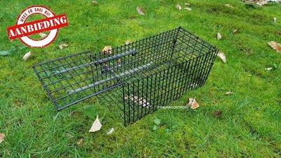 Rattenvangkooi zwart